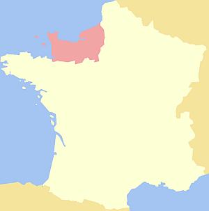 Normandie, Frankreich