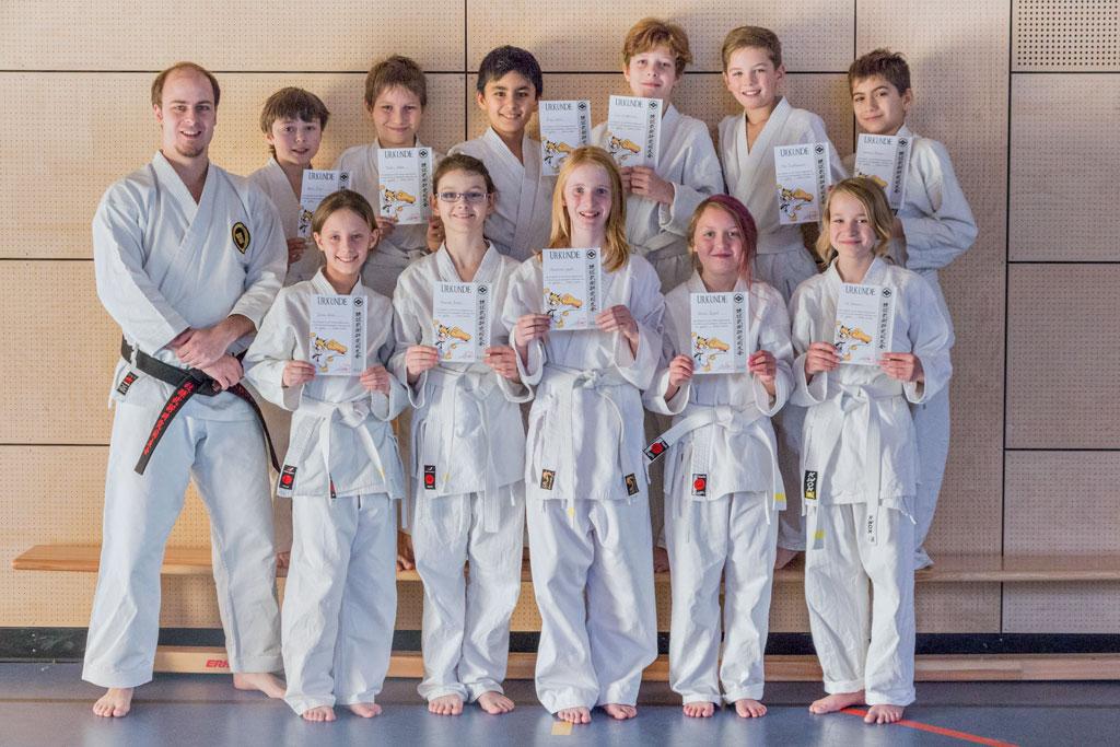 2013-12-16 Karate - Streifenprüfung