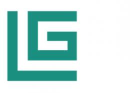 Luggy Logo quer weiß grün