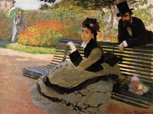 Claude Monet: Le banc