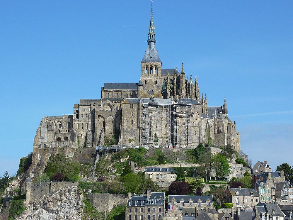 Der Mont-St.-Michel in voller Pracht. (Foto: Kern)