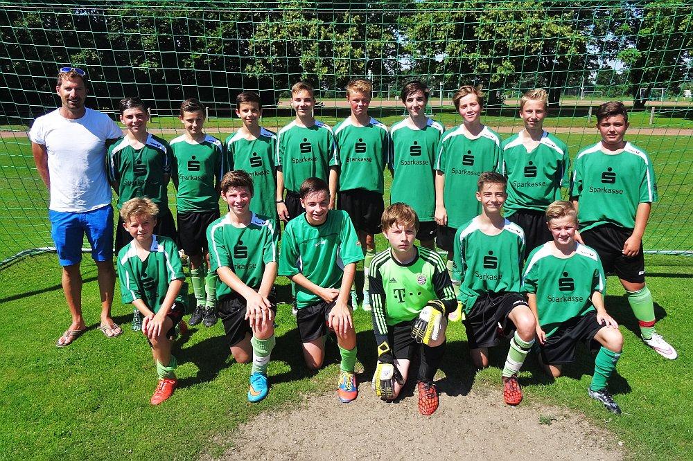 Die erfolgreiche Luggy-Schulmannschaft (Jahrgänge 2001-2003)