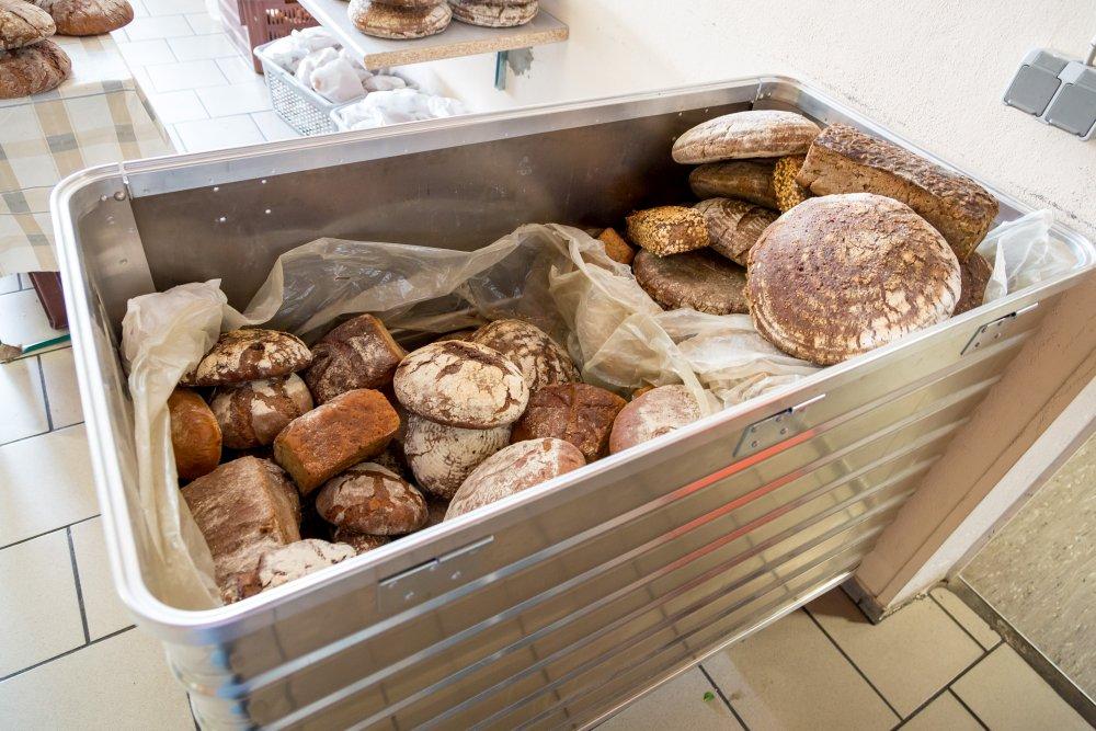 Brotanlieferung