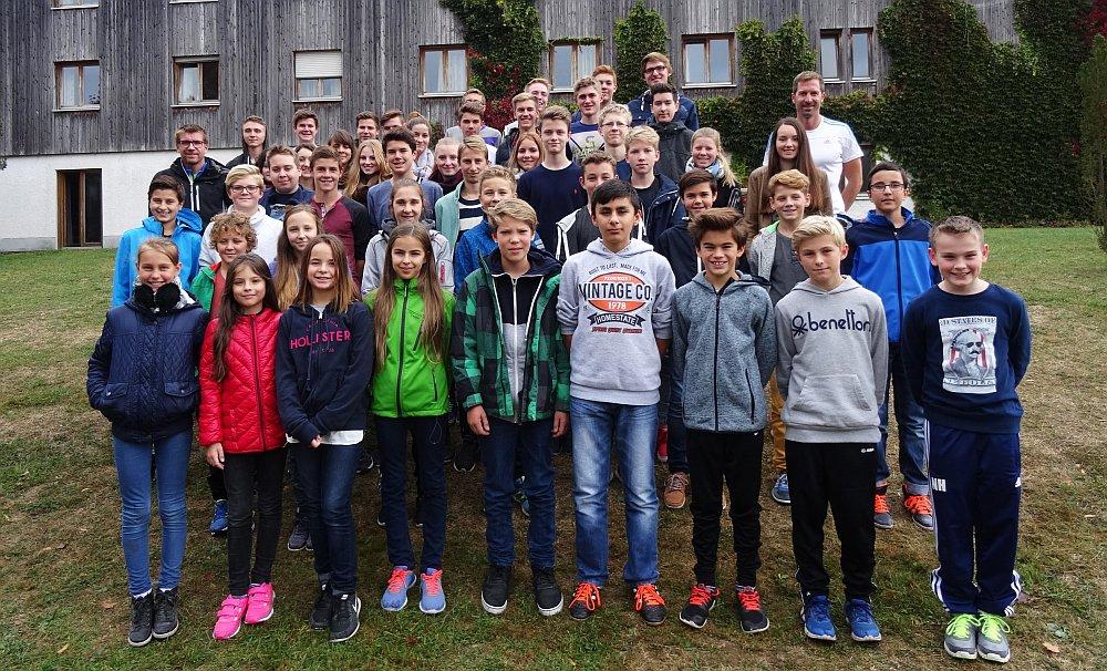 Setzen sich für die Belange ihrer Klassenkameraden ein: die Klassensprecher des Ludwigsgymnasiums